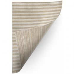 Carpet DOUBLE 29203/750 STRIPES brown/beige double-sided