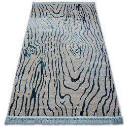 Carpet ACRYLIC MANYAS 195AA Grey/Blue fringe