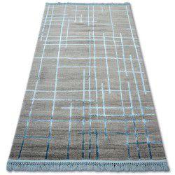 Carpet ACRYLIC MANYAS 191AA Grey/Blue fringe