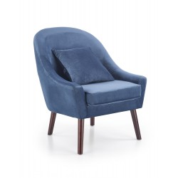 Armchair OPALE dark blue