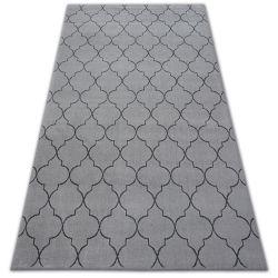 Carpet SENSE Micro 81220 TRELLIS silver/anthracite