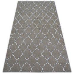 Carpet SENSE Micro 81220 TRELLIS beige/white