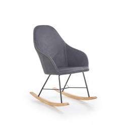 Rocking chair LAGOS grey