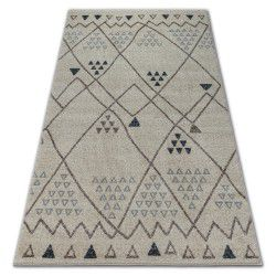 Carpet SOFT 2554 ETHNO cream / light grey