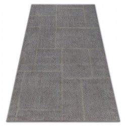 Carpet SOFT 8031 RECTANGLES brown / beige