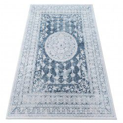 Carpet ACRYLIC VALENCIA 2328 ORNAMENT blue / ivory