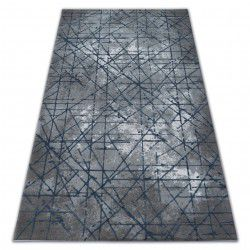Carpet ACRYLIC VALENCIA 3949 INDUSTRIAL grey / blue