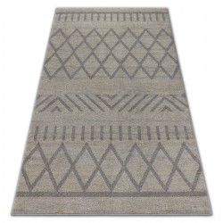 Carpet SOFT 8034 ETHNO BOHO cream / light brown