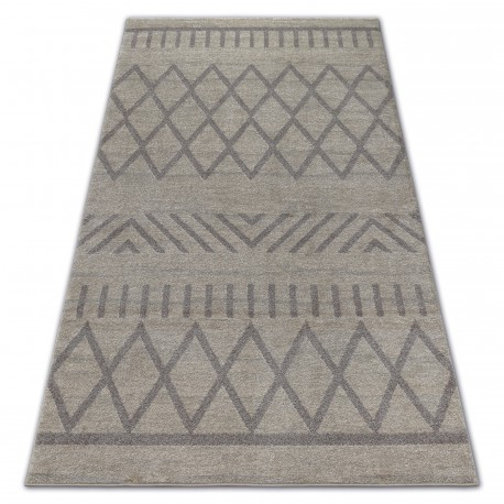 Carpet SOFT 8034 ETHNO BOHO cream / light brown