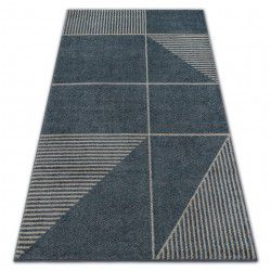 Carpet SOFT 8043 MODERN ETHNO grey