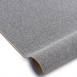 Carpet SOFT 6312 FLOWERS light grey / blue / mustard