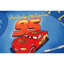 Carpet wall-to-wall DISNEY CARS blue