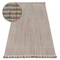 Carpet NATURE 90000 beige fringe SIZAL BOHO