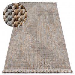 Carpet NATURE SL110 beige fringe SIZAL BOHO