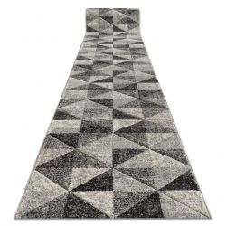 Runner FEEL 5672/16811 TRIANGLES grey / anthracite / cream