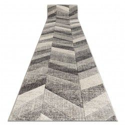 Runner FEEL 5673/16811 HERRINGBONE grey / anthracite / cream
