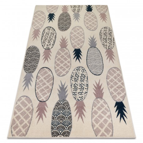 Carpet HEOS 78464 cream / pink / blue / grey PINEAPPLE