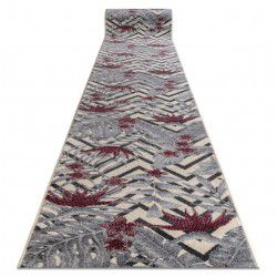 Runner HEOS 78540 cream / claret LEAVES JUNGLE