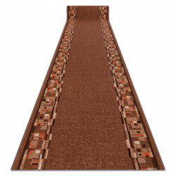 Runner anti-slip BOMBAY brown