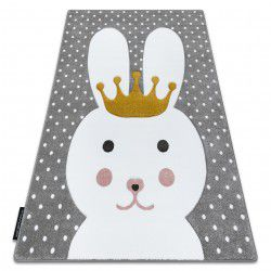 Carpet PETIT BUNNY rabbit grey