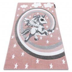 Carpet PETIT PONY pink