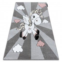 Carpet PETIT UNICORN grey