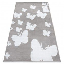 Carpet BCF ANNA Butterfly 2650 Butterflies grey