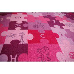 Carpet wall-to-wall PUZZLE purple