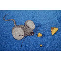 Carpet wall-to-wall MICE blue
