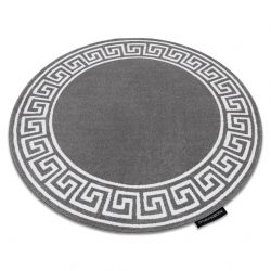 Carpet HAMPTON Grecos circle grey