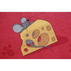 Carpet wall-to-wall MICE red