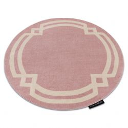 Carpet HAMPTON Lux circle pink