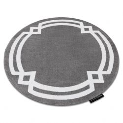 Carpet HAMPTON Lux circle grey