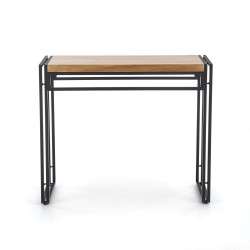Table BOLIVAR KN-1 gold / black