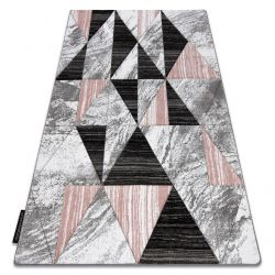 Carpet ALTER Nano Triangles blush pink