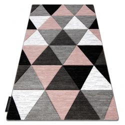 Carpet ALTER Rino Triangles blush pink