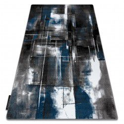 Carpet INTERO ART 3D Abstraction blue