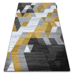 Carpet INTERO TECHNIC 3D Diamonds Triangles gold