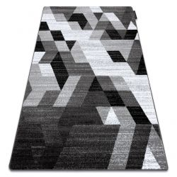 Carpet INTERO TECHNIC 3D Diamonds Triangles grey
