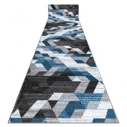 Runner INTERO TECHNIC 3D Diamonds Triangles blue