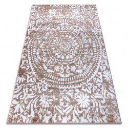Carpet RETRO HE183 beige / white Vintage