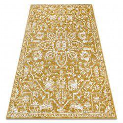 Carpet RETRO HE184 gold / cream Vintage