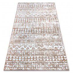 Carpet RETRO HE187 beige / white Vintage