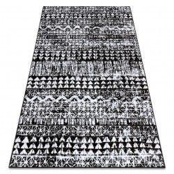 Carpet RETRO HE187 black / cream Vintage