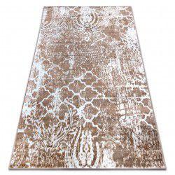 Carpet RETRO HE190 beige / white Vintage
