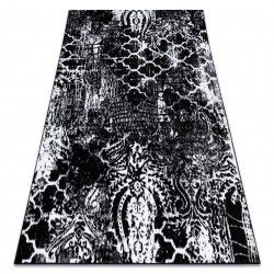 Carpet RETRO HE190 black / cream Vintage