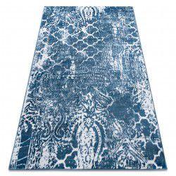 Carpet RETRO HE190 blue / cream Vintage