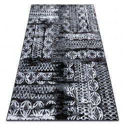 Carpet RETRO HE191 black / cream Vintage