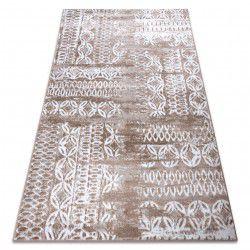 Carpet RETRO HE191 beige / white Vintage