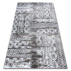 Carpet RETRO HE191 grey / cream Vintage
